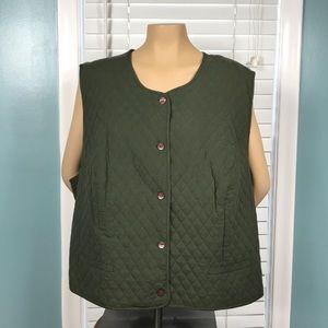 24W Pendleton Plus Quilted Vest